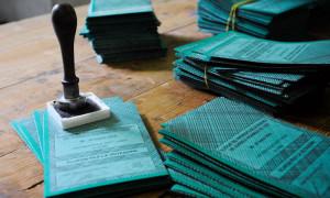 schede elettorali elezioni