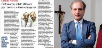 Grumo Nevano, con il 61.15% L'AVV. Gaetano Di BERNARDO è il nuovo Sindaco della città