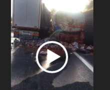MAXI INCIDENTE IN AUTOSTRADA: TRAFFICO IN TILT SULLA NAPOLI-CANOSA [VIDEO]
