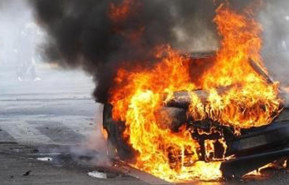 Grumo Nevano: Lite tra vicini finisce nel peggiore dei modi, autovettura in fiamme