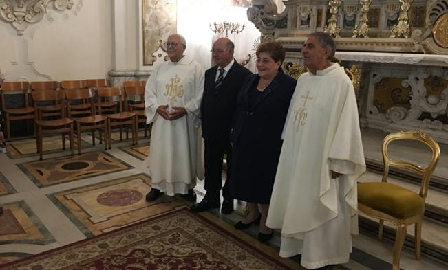 Grumo Nevano: Celebrati i 50 anni di matrimonio dei fratelli di comunità Pasquale Caputo e Puca Colomba