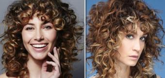 La frangia sui capelli ricci è di tendenza, ecco i tagli giusti per portarla con stile e senza stress