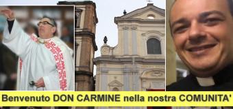 Comunità Grumese in festa per l'arrivo del nuovo parroco della Basilica di San Tammaro Don Carmine SPADA