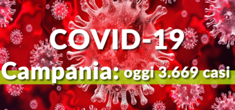 Covid-19 Continua a crescere in Campania, oggi 3.669 casi su 20.860 test